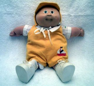 Cabbage Patch Baby Boy Doll 1984 Original Appalachian Art Works Coleco
