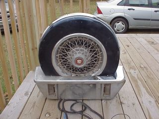 Classics Continental Kit Spare Tire Cadillac Lincoln Hot Rod Rat