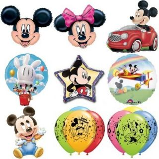 Minnie Mouse Jumbo Birthday or Baby Shower Balloons U Choose