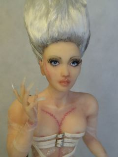 Art Doll Sculpture, Gothic Horror, Fairy, Bride, Barbara Kee OAD IADR