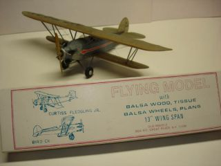 Bird CK Balsa Wood Flying Model Airplane Kit
