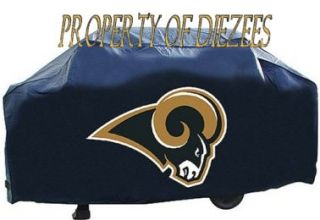 Saint Louis Rams NFL BBQ Gas Grill Cover New with Logo