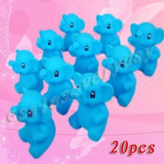 set of 20 new lovely animal elephants baby bath toys