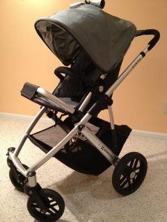 Vista Uppa Baby Travel System Stroller Green Carlin UPPAbaby