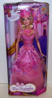 Barbie in The Three Musketeers Corinne Doll New