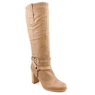 Bandolino Aisel Womens Size 8 Tan Leather Fashion Knee High Boots