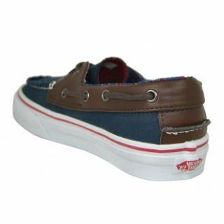 Vans Mens Zapato Del Barco (H&L) Dress Blues Trainer Shoe Brand New