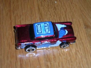 Hot Wheels 1955 Chevrolet Bel Air Ride Yourself Wild Diecast 1 66