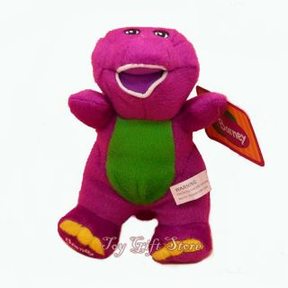 New Barney Plush Doll Stuffed Toy 6 7 for Xmas Gift
