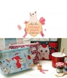 Lalala Pouch Makeup Cosmetic Bags Cases Multi Pen Pouch Cases