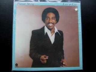 Barrett Strong Live Love Original Vinyl LP Capitol Modern Soul Funk