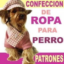 Curso de Ropa Para Perros Patrones Corte Y Confeccion Dog Grooming