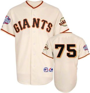 Barry Zito 2012 San Francisco Giants World Series Home Jersey Sz M 2XL