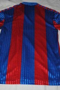 BARCELONA FOOTBALL SHIRT 80`S CAMISETA FCB CAMP NOU LA LIGA BARCA