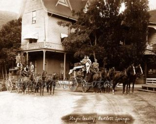 Stage Coach Stagecoach Bartlett Springs Clear Lake California CA Photo