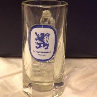 Barware,collectible vintage Lowenbreau Beer Mug,Mint Condition Heavy