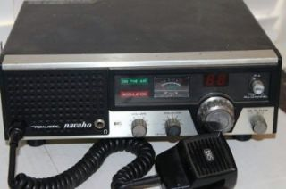 Navaho TRC 431 Base Station CB Radio w Microphone 40 Channel
