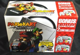 Nintendo GameCube Mario Kart Double Dash Console Brand New SEALED
