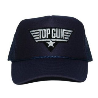 Top Gun Navy Foam Mesh Trucker Baseball Cap Hat Caps