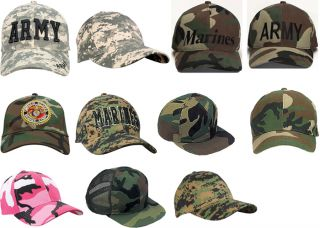 Camouflage Military Low Profile Baseball Cap Camo Hats
