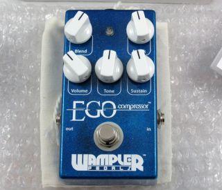 Wampler Ego Compressor Guitar Bass Effect Pedal LATEST VERSION