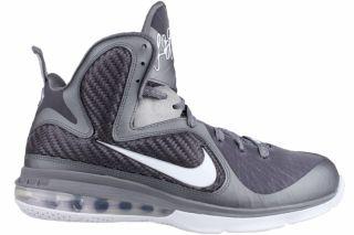 Nike Lebron 9 Sz 16 Mens Basketball Shoes Gray/White/Silver