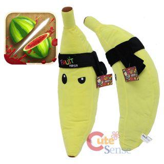 Fruit Ninja Banana 20 Plush Doll Large Plush Pillow Cushion Suffed