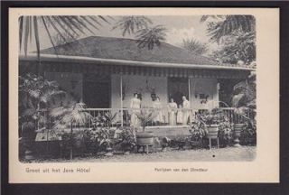 Batavia Java Dutch East Indies Jakarta Indonesia c1905 Grand Hotel