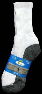 Wholesale Lot 12 Pairs Swan Mens/Boys Sports Socks Size 9 11 White