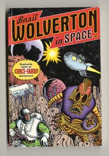 BASIL WOLVERTON IN SPACE trade paperback Golden Age sci fi comics