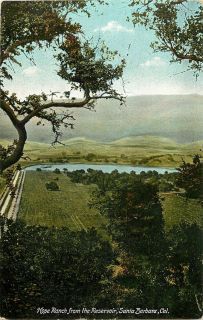 Hope Ranch from The Reservoir Santa Barbara CA M Rieder Pub