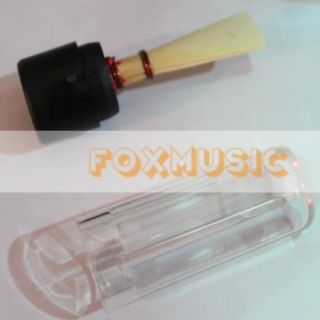 5X Handmade Bassoon Reeds Plastic Case High Quality