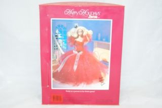 1988 First Happy Holiday Barbie Doll Special Edition 1703 NRFB 1st ED