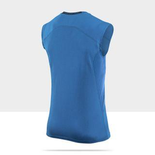Nike Pro Combat Core Fitted Mens Shirt 449786_407_B