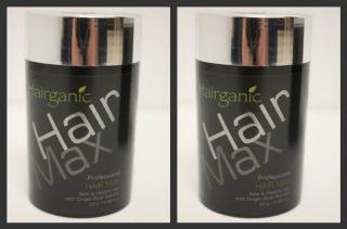 50 G of Hairganic Hair Max Color Brown Building Fibers Hair Loss