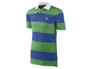 Nike Grand Slam Washed Stripe Mens Polo 466647_374