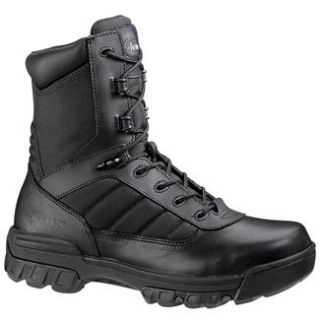 MENS BATES 8 TACTICAL SPORT BLACK BOOTS (military army combat swat