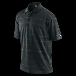 Nike TW Dri FIT Variegated Stripe Mens Golf Polo
