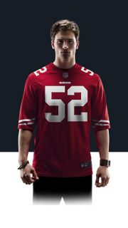 NFL San Francisco 49ers (Patrick Willis) Mens Football