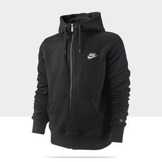 Felpa con cappuccio e zip a tutta lunghezza Nike Brushed   Uomo