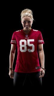 NFL San Francisco 49ers (Vernon Davis) Womens Football