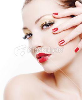 Ongle, Maquillage, Femmes, Beauté, Manucure Photo libre de droits