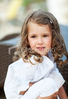 stock photo 17179677 portrait of a cute little girl