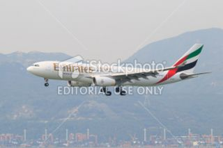 stock photo 21563612 emirates airline airbus a330 200