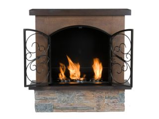 SEI F7004 Aspen Portable Indoor/Outdoor Gel Fuel Fireplace