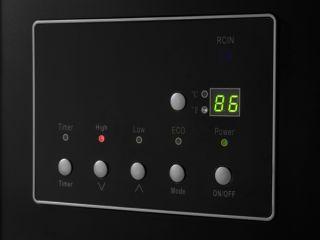 LifeSmart 1500 Watt Quartz Infrared Heater with Remote Control