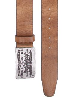 Image 1 of Levis Fort Plaque Buckle Leather Belt