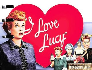 Love Lucy   The Complete Series DVD, 2007, 39 Disc Set, Checkpoint