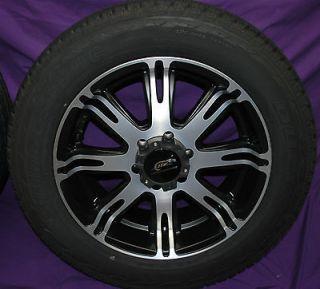 20 Black Ribelle 6 Lug Rims Wheels for Avalanche LTZ Escalade K 1500