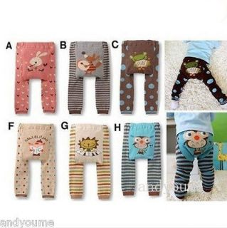 HOT Cute Baby Toddler Animal Legging Tights Leg Warmer Socks PP Pants
